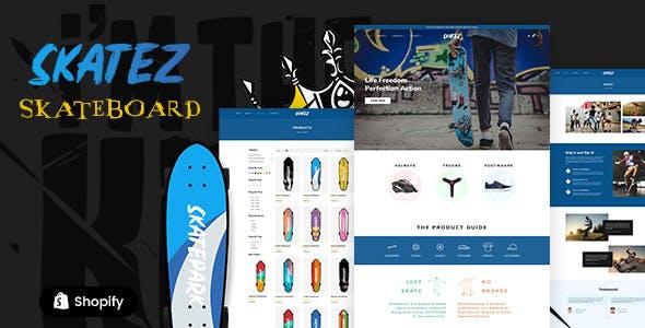 Skatez - Outdoor Sports Shopify Theme