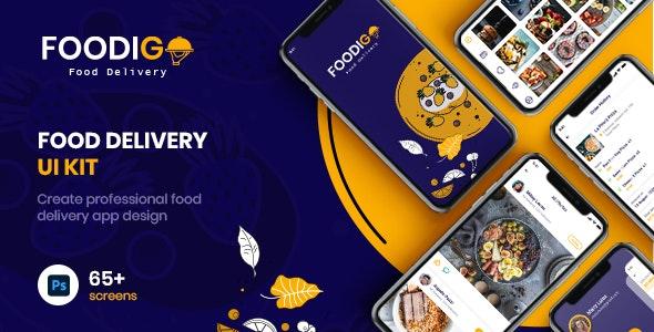 FOODIGO | Food Delivery UI Kit - Food Retail