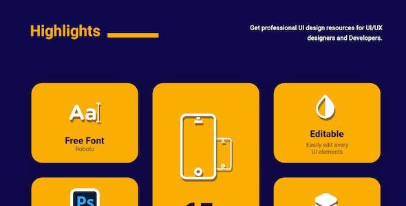 FOODIGO | Food Delivery UI Kit