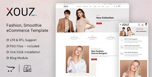 Xouz - OpenCart 3 Fashion & Accessories - Fashion OpenCart