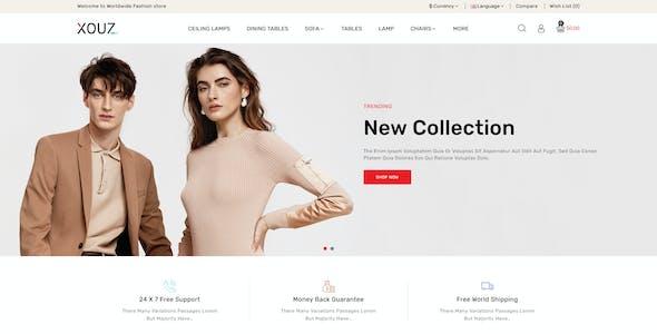 Xouz - OpenCart 3 Fashion & Accessories