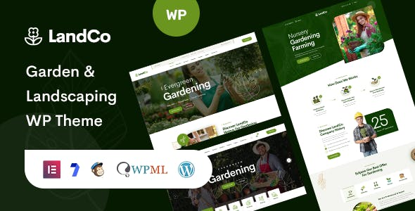 Landco - Garden & Landscaping WordPress Theme