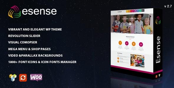 Esense - Vibrant and elegant WP theme - Creative WordPress