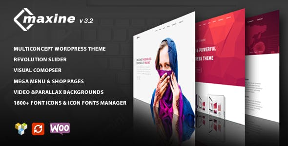 Maxine - Multi Concept WordPress Theme