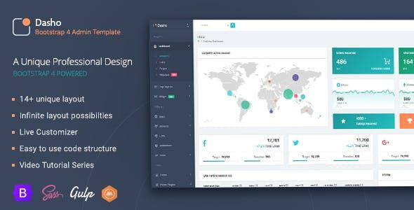 Dasho Bootstrap Admin Template