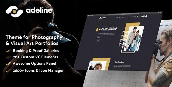 Adeline - Photography Portfolio Theme - Photography Creative
