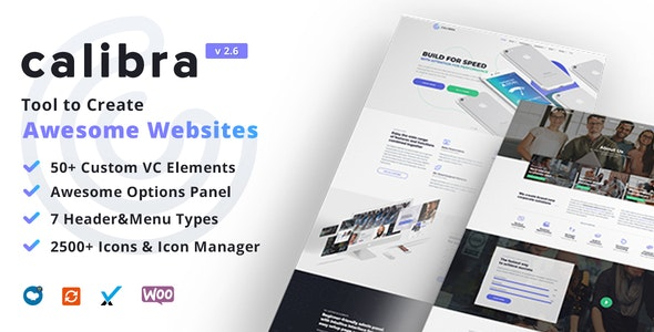 Calibra - Responsive Multi-Purpose WordPress Theme - Business Corporate