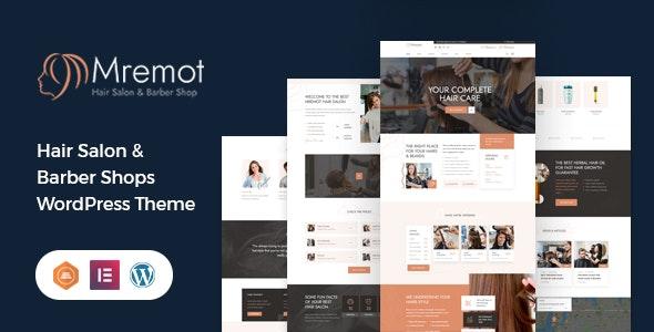 Mremot - Hair Salon Shop WordPress Theme - Health & Beauty Retail