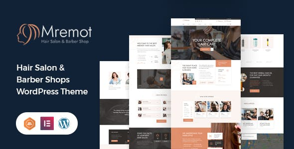 Mremot - Hair Salon Shop WordPress Theme