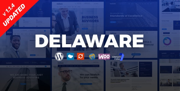 Delaware - Consulting and Finance WordPress Theme - Business Corporate