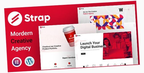 Strap - Creative Business WordPress Theme