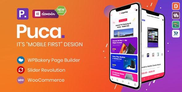 Puca - Optimized Mobile WooCommerce Theme - WooCommerce eCommerce