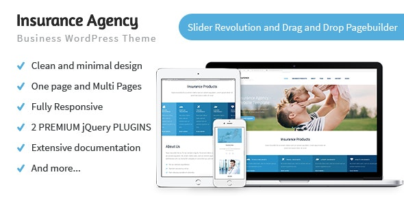 Insurance Agency - Business WP Theme - Miscellaneous WordPress