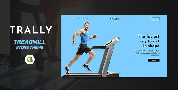 Trally - Threadmill Store Shopify Theme