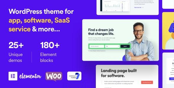 ShadePro - Startup & SaaS WordPress Theme - Technology WordPress
