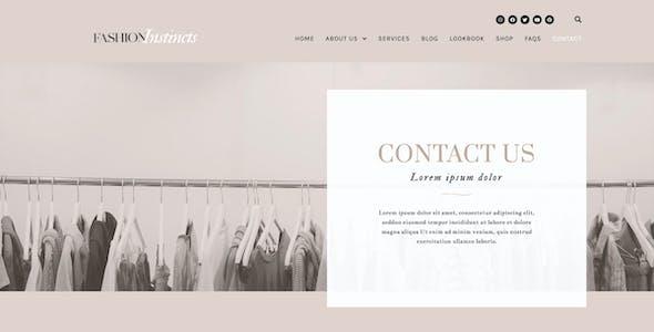 Fashion Instincts - WooCommerce Elementor Template Kit