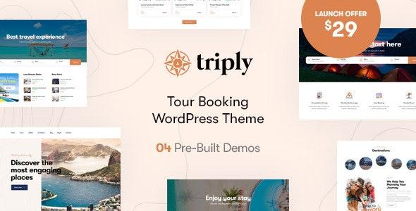 Triply - Tour Booking WordPress Theme - Travel Retail