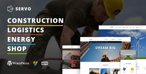Servo - Industry & Construction theme - Business Corporate