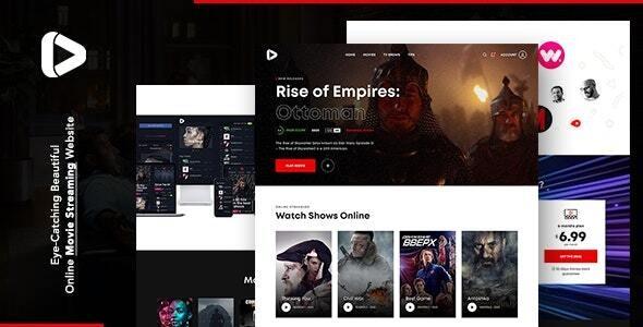 Digiflex | Online Movie Streaming Joomla Template - Technology Joomla