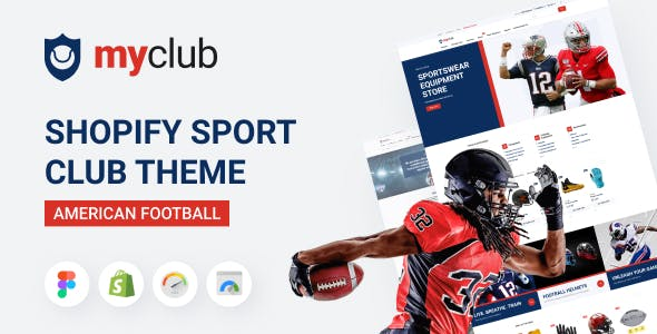 Myclub - Shopify Sport Club Theme