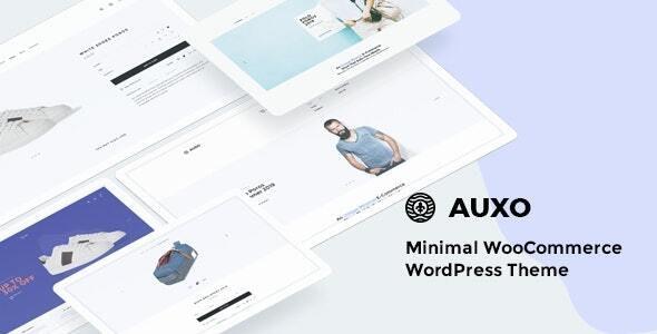 Auxo – Minimal WooCommerce Shopping WordPress Theme - WooCommerce eCommerce