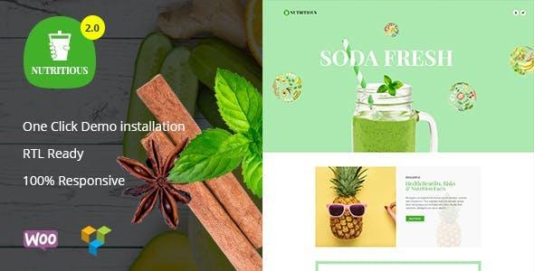 Nutritious - Vitamin Juice WooCommerce Theme