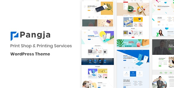 Pangja - Print Shop WordPress theme - eCommerce WordPress