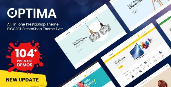 Optima - Multipurpose  Responsive Prestashop 1.7 Theme