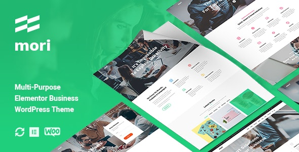 Mori - Business Corporate WordPress Theme - Business Corporate