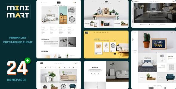Minimart v1.0.0 – Minimal Furniture Store Prestashop 1.7 Theme