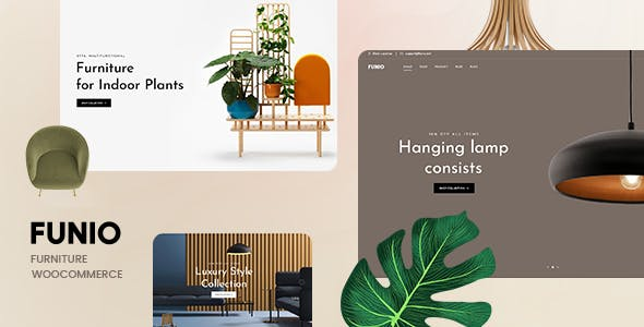 Funio – Furniture WooCommerce WordPress Theme