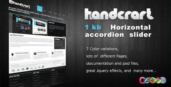 Handcraft 7 in 1 - Wordpress Theme - Creative WordPress