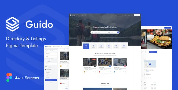 Guido - Directory & Listing Figma Template