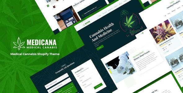 Medicana - Medical Cannabis Shopify Theme - Health & Beauty Shopify
