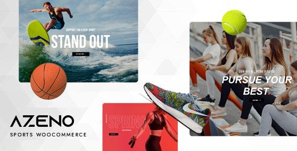 Azeno – Sport Store WooCommerce Theme - WooCommerce eCommerce