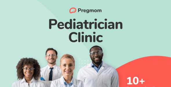 Pregmom - Pediatrician Clinic Elementor Template Kit