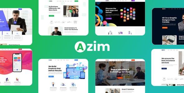 Azim | Multi-Purpose WordPress Theme