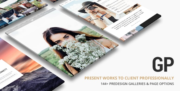 Grand Photography WordPress - Photography Creative