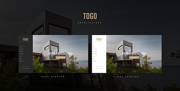 TOGO - Architecture & Interior Template