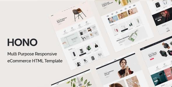 Hono Multipurpose eCommerce HTML Template