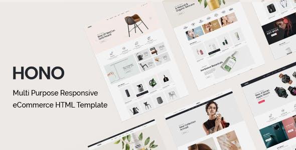 Hono - Multipurpose eCommerce HTML Template