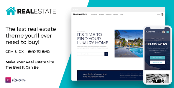 Real Estate 7 WordPress - Real Estate WordPress