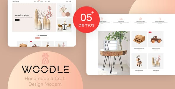 Woodle - Handmade And Craft Responsive Shopify Theme