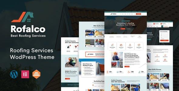 Rofalco - Roofing Services WordPress Theme