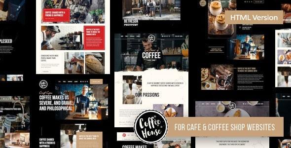 Craft | Coffee Shop Cafe Restaurant HTML - Food Retail