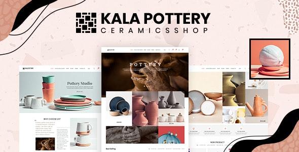 Kala Pottery - Ceramics Responsive Shopify Theme - Shopify eCommerce