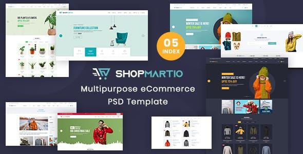 ShopMartio - Multipurpose eCommerce PSD Template