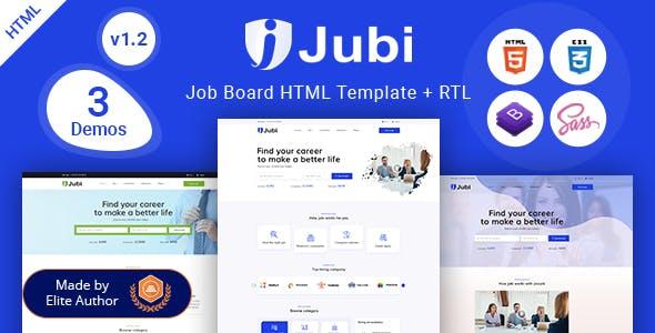 Jubi - Job Board HTML Template