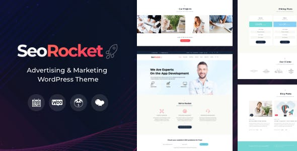 Seo Rocket | Advertising & Marketing WordPress Theme