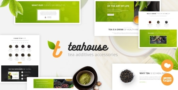 TeaHouse | Tea Store and Coffee Shop WordPress Theme by ThemeREX |  ThemeForest